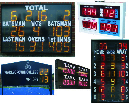 A Wide Range of Scoreboards